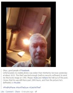 self-policing via online