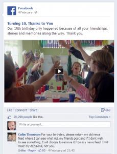 slap in the facebook